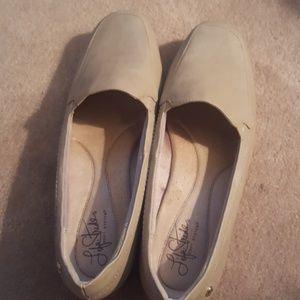 Life Stride Shoes - Life Stride Dede Flats Beige Size 10