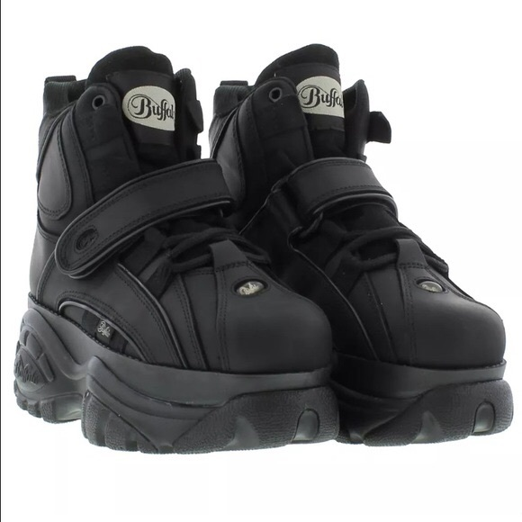 Nasty Gal Shoes Buffalo London B48 Platform Sneaker Size