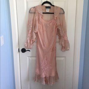Alex Evenings Dresses & Skirts - Petite Pink Evening Outfit (Never Been Worn)