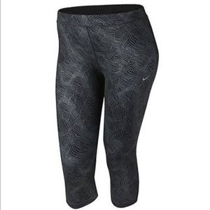 NWT Nike plus size running Cropped tights