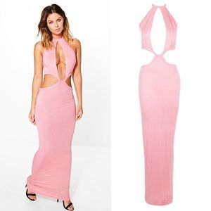 Boohoo Dresses & Skirts - Cut out fitted pencil Maxi size 4