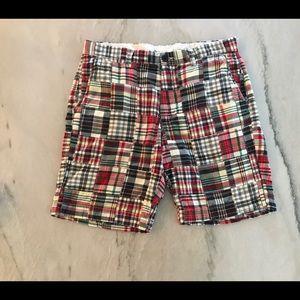 J. Crew Other - J. Crew Men's Madras Plaid Shorts