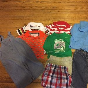 Other - 6-9 month lot. 3 shirts one onesie 2 shirts 2 pant