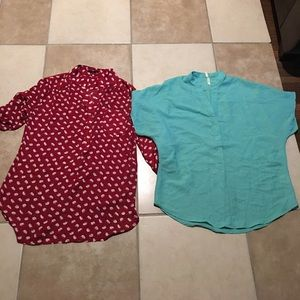 Naked Truth Tops - Two blouses size large