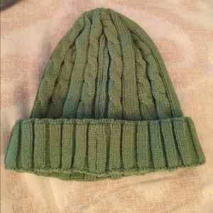 22f4a528789 Moncler Accessories - Moncler kids green ribbed beanie hat