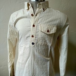 Abercrombie & Fitch Other - Abercrombie and Fitch cream long sleeve shirt