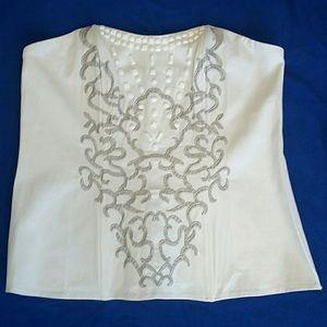 Ashley Stewart Tops - Beautiful Ashley Stewart summer corset top!