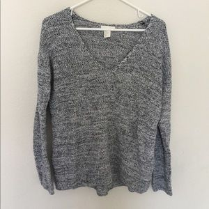 H&M Conscious v-neck sweater, size XS