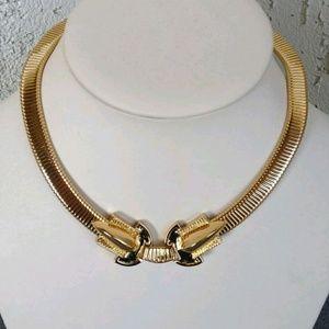 Rachel Zoe Jewelry - Vintage Style Rachel Zoe Omega Collar Necklace