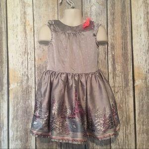 Cherokee Other - Cherokee silver wonderland dress