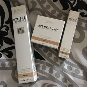 IT Cosmetics Other - IT Cosmetics BYE BYE Foundation Collection