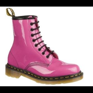 Dr. Martens Shoes - Dr. Martins 1460 8-Eye Boot in Hot Pink