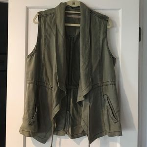 """Max Jeans Utility Style """"Army"""" Vest"""