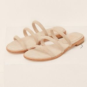 Reformation Shoes - NEW IN BOX! Charlotte Stone Bruna Sandals