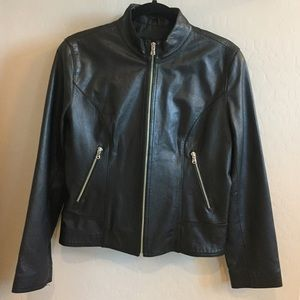Guess Jackets & Blazers - Black GUESS Leather Jacket - SIZE L