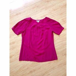 Pendleton Tops - Pendleton Hot Pink Chiffon Top