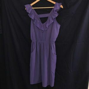 Kirra dress, size large, purple