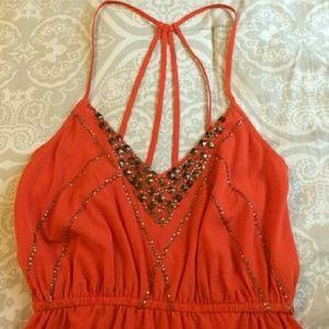 NEW Embellished A-line Dress