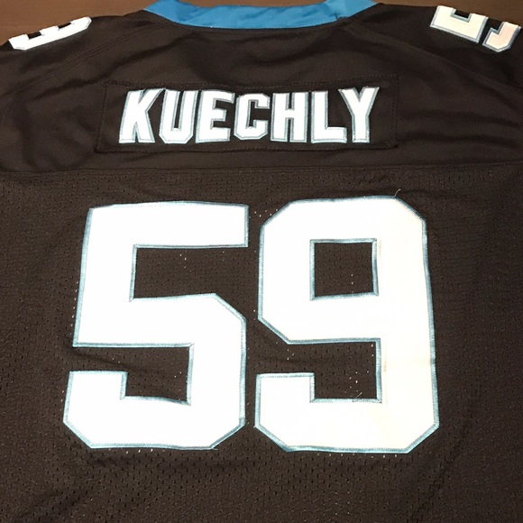 best service b4aa5 a832b Carolina Panthers Luke Kuechly Jersey