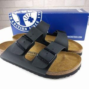 Birkenstock Shoes - NIB Birkensock Arizona Black Slide Sandal