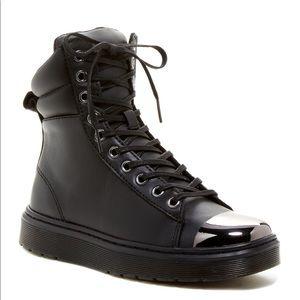 Dr. Martens Shoes - Dr. Martens Kayla Cap Toe High-Top Sneaker