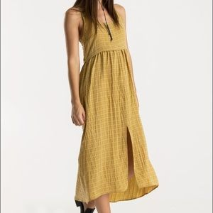 Reformation Dresses & Skirts - Whimsy + Row Jane Dress in Gold