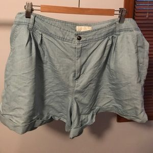"""angel forever Pants - """"Forever 21"""" plus sized cotton shorts"""