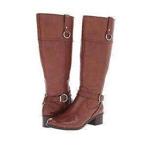 Blush Shoes - Bandolino Brown Riding Boots
