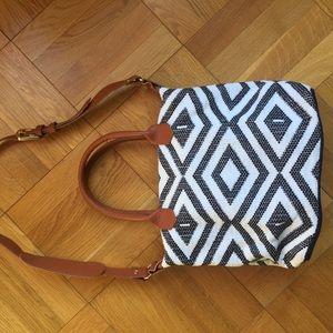 Handbags - Never used zig zag tropical purse
