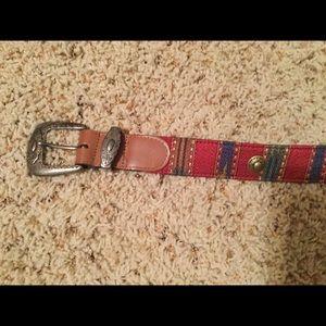 """Ginnie Johansen Accessories - Ginnie Johansson designer leather belt size 32"""""""