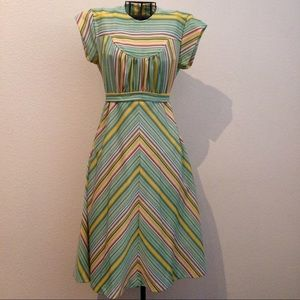 VINTAGE striped dress
