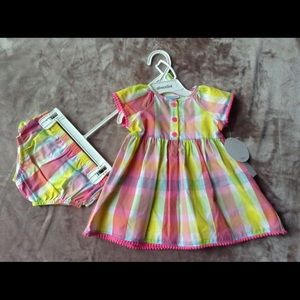 Absorba Other - NWT Infant Dress and Panty Set