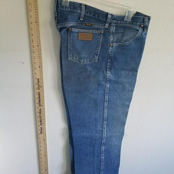 54% off Wrangler Other - Cowboy Cut Wrangler Jeans just ...