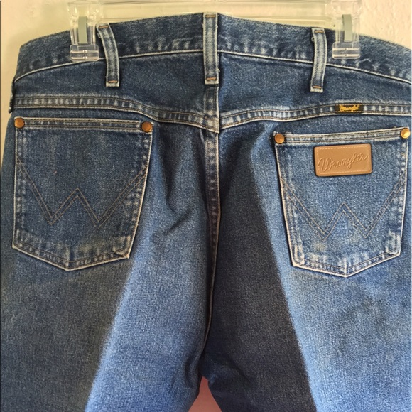 Cowboy Cut Wrangler Jeans just starched dry clean!