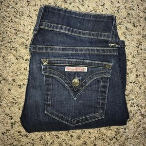 Hudson Jeans Signature Bootcut denim.