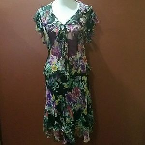 Lauren Ralph Lauren Dresses & Skirts - Lauren Ralph Lauren 2 peice garden dress
