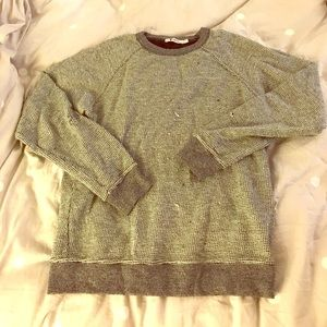 T by Alexander Wang Sweaters - Distressed T by Alexander Wang Crewneck