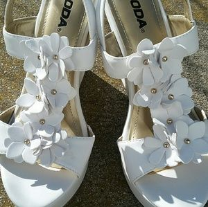 Soda Shoes - Wedge Sandals