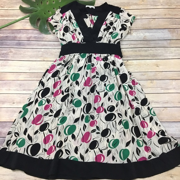69b443ec2b4 Corey Lynn Calter silk fruit print dress