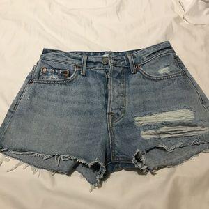 GRLFRND Pants - Grlfrnd denim shorts high waisted