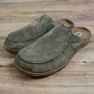 OluKai Other - OluKai Leather & Suede Slide sandals 12 mens