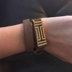 Tory burch Fitbit flex leather bracelet