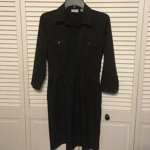 New York & Company Dresses & Skirts - New York and Company Black Shirt Dress