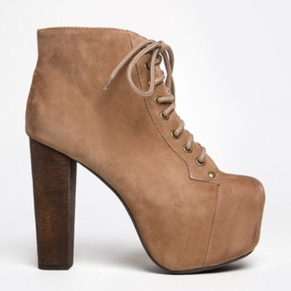 72 off jeffrey campbell shoes jeffrey campbell lita suede bootie size 8 from b 39 s closet on. Black Bedroom Furniture Sets. Home Design Ideas