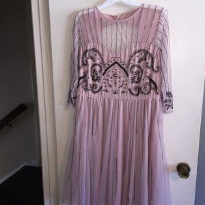 ASOS Maternity Dresses & Skirts - {NEW} ASOS Pink Beaded Formal Dress