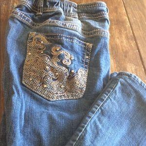 Reba Denim - Weekend Sale Reba 18W Crocheted Jeans