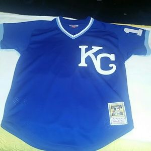 Mitchell & Ness Other - Bo Jackson 1989 Authentic Mesh BP Jersey