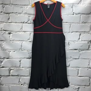 INC International Concepts Dresses & Skirts - 💕SALE💕INC. Black & Red Ruffled Summer Dress