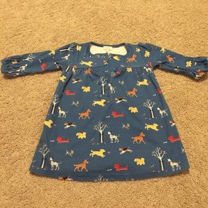 Le Top Other - Le Top 18 Month Blue Dress with Dog Print