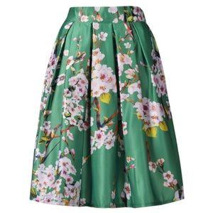 Choies Dresses & Skirts - ✨NEW Listing✨Choies green Sakura skirt NWT
